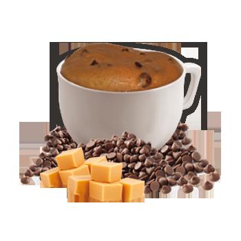 Chocolatey Caramel Flavored Mug Cake